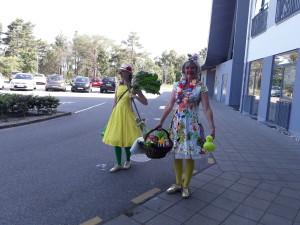 Rabarberblads-parasol